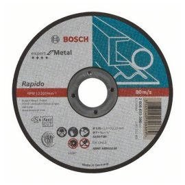 Bosch Darabolótárcsa, egyenes, Expert for Metal – Rapido AS 60 T BF, 125 mm, 1,0 mm