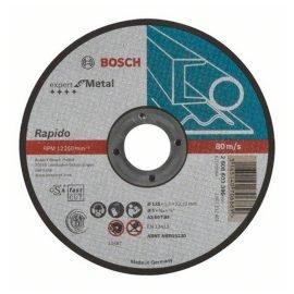 Bosch Darabolótárcsa, egyenes, Expert for Metal – Rapido AS 60 T BF, 125 mm, 1,0 mm
