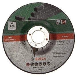 Bosch Darabolótárcsa, hajlított, kő D= 125 mm