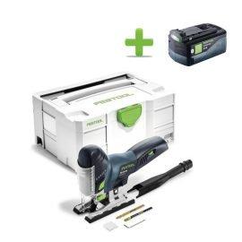 Festool PSC 420 Li EB-Basic CARVEX Akkus szúrófűrész + Ajándék 202479 BP 18 Li 5,2 ASI Akkuegység