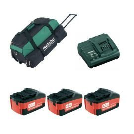 Metabo Power Combo 18V 4.0Ah Li-ion akku szett