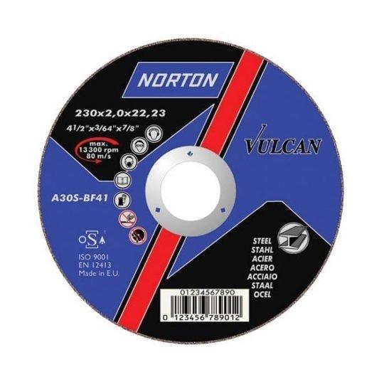 Norton Vulcan Fém vágókorong 230 x 1,9 mm