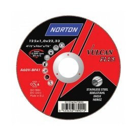Norton Vulcan Inox vágókorong 125 x 1,6 mm