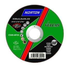 Norton Vulcan Kővágó korong 230 x 3 mm
