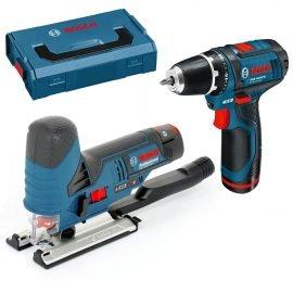 Bosch GSR 10,8-2-LI + GST 10,8-V-LI Akkus szett