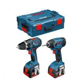 Bosch GSR 14,4 V-LI + GDR 14,4-LI Akkus szett