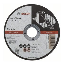 Bosch Darabolótárcsa Rapido LongLife AS 60 V BF 41, 125 mm, 22,23 mm, 1,0 mm