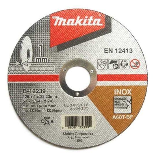 Makita B-12239 Inox vágókorong 125 x 1 mm
