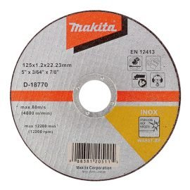 Makita D-18770 Inox vágókorong 125 x 1,2 mm