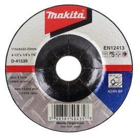Makita D-41539 Nagyolótárcsa 115 x 6 mm