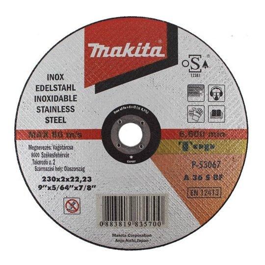 Makita P-53067 Inox vágókorong 230 x 2 mm