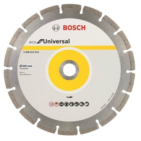 Bosch ECO for Universal gyémánt darabolótárcsa 300 x 25,4 mm