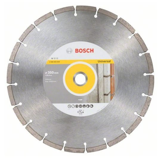 Bosch Standard for Universal gyémánt darabolótárcsa 350 x 25,4 mm