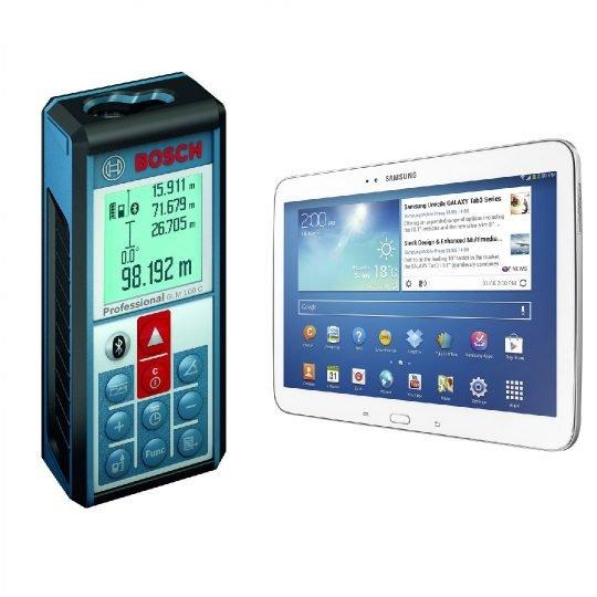 Bosch GLM 100 C Lézeres távolságmérő