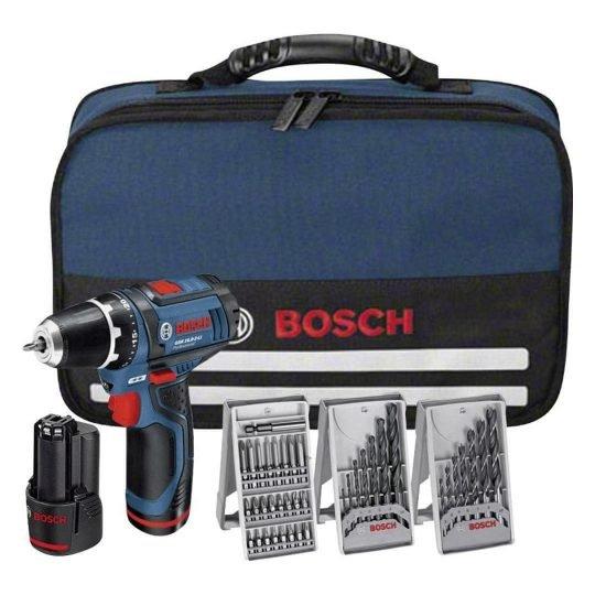 Bosch GSR 10,8 V-EC Akkus fúrócsavarozó