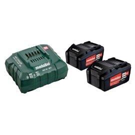 Metabo alapkészlet 2 x Li-Power 18 V 5,2 Ah + ASC 30-36 V töltő