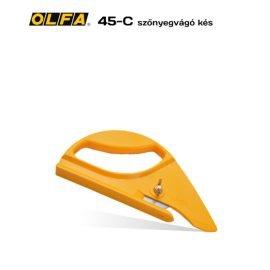 Olfa 45-C - Szőnyegvágó kés
