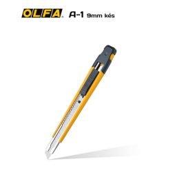 Olfa A-1 - 9mm-es standard kés / sniccer