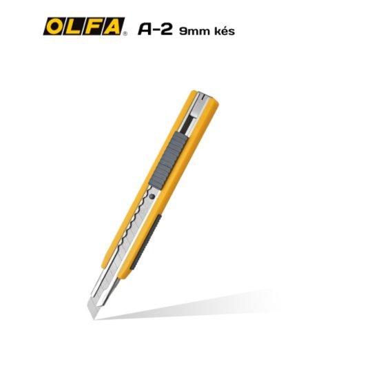 Olfa A-2 - 9mm-es standard kés / sniccer
