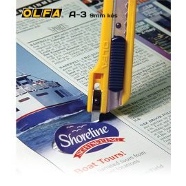 Olfa A-3 – 9mm-es standard kés / sniccer