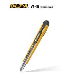 Olfa A-5 – 9mm-es standard kés / sniccer