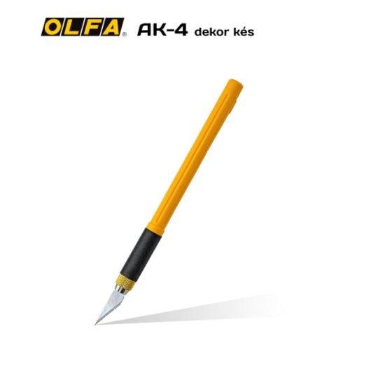Olfa AK-4 - Dekor és hobby kés