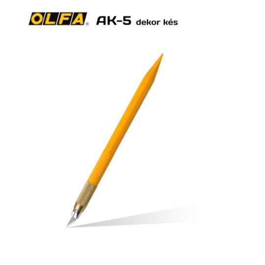 Olfa AK-5 - Dekor és hobby kés