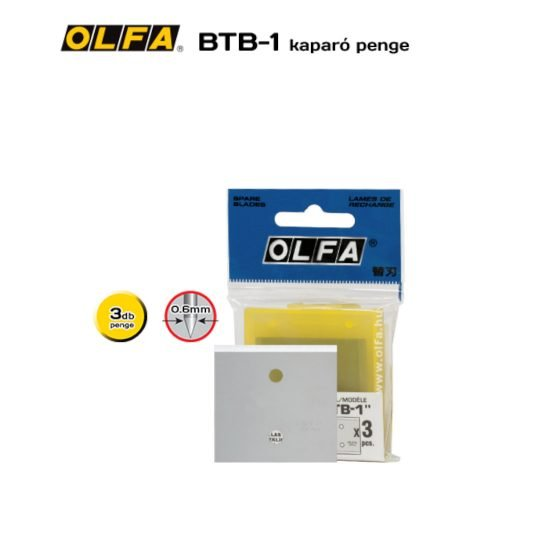 Olfa BTB-1 - kaparó penge