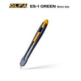 Olfa ES-1/Green - 9mm-es standard kés / sniccer