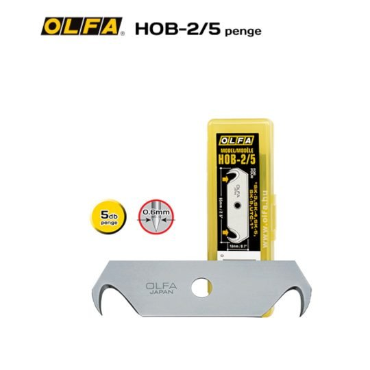 Olfa HOB-2/5 - Horgas biztonsagi penge