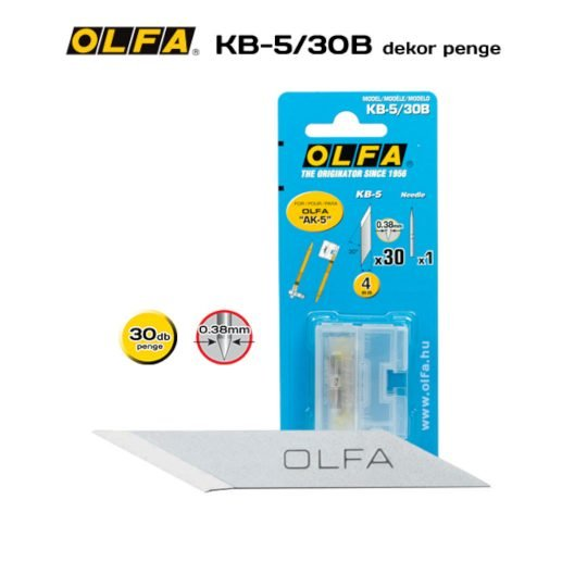 Olfa KB-5/30B - Dekor penge