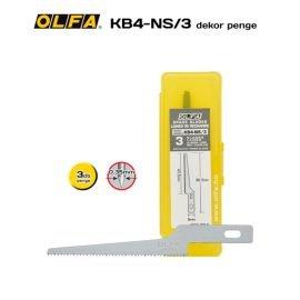 Olfa KB4-NS/3 - Fűrész penge