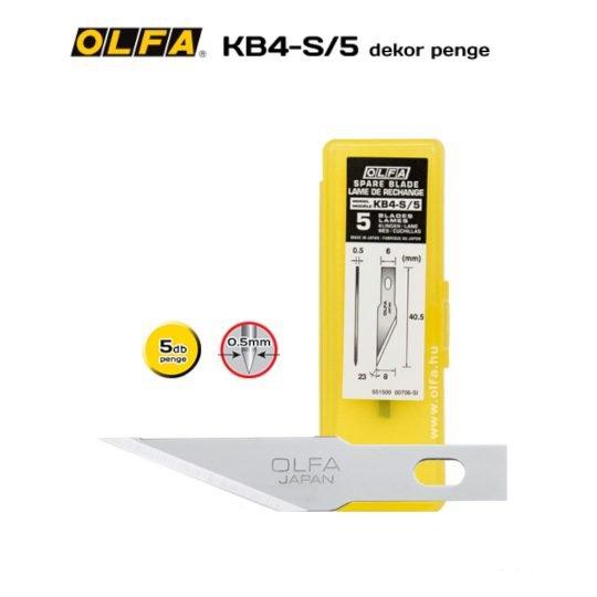 Olfa KB4-NS/5 - Dekor penge
