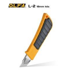 Olfa L-2 18mm-es standard kés / sniccer