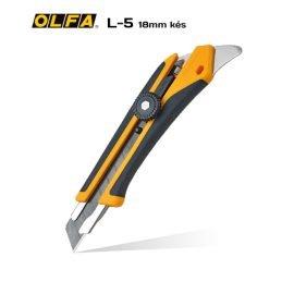 Olfa L-5 18mm-es standard kés / sniccer