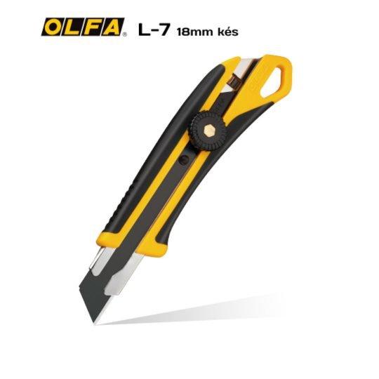 Olfa L-7 18mm-es standard kés / sniccer