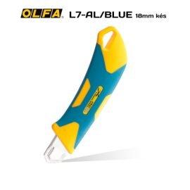 Olfa L-7-AL/BLUE 18mm-es standard kés / sniccer