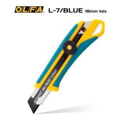 Olfa L-7/BLUE 18mm-es standard kés / sniccer