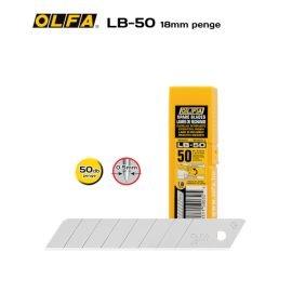 Olfa LB-50 - 18mm-es Standard tördelhető penge