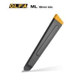 Olfa ML - 18mm-es standard kés / sniccer