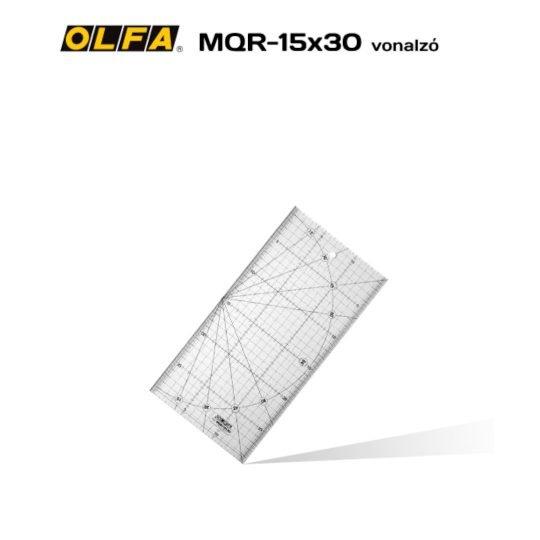 Olfa MQR-15x30 - Patchwork vonalzó