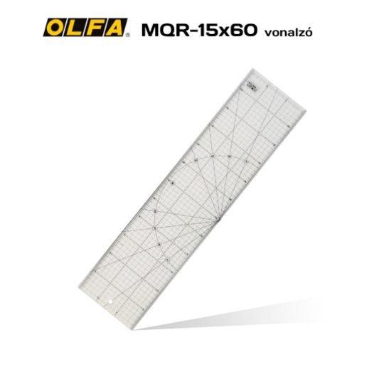 Olfa MQR-15x60 - Patchwork vonalzó