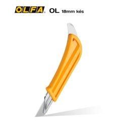 Olfa OL 18mm-es standard kés / sniccer