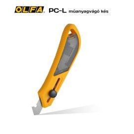 Olfa PC-L - Műanyagvágó dekor és hobby kés