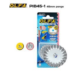 Olfa PIB45-1 - 45mm-es cakkozó körpenge