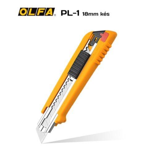 Olfa PL-1 - 18mm-es standard kés / sniccer