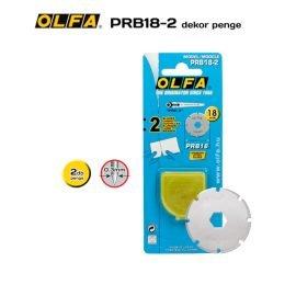 Olfa PRB18-2 - 18mm-es perforáló penge
