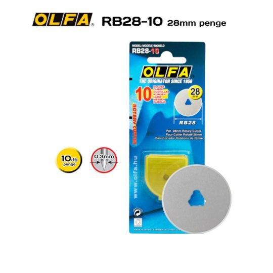 Olfa RB28-10 - 28mm-es Körpenge