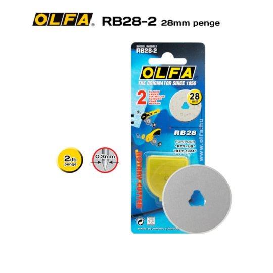 Olfa RB28-2 - 28mm-es Körpenge