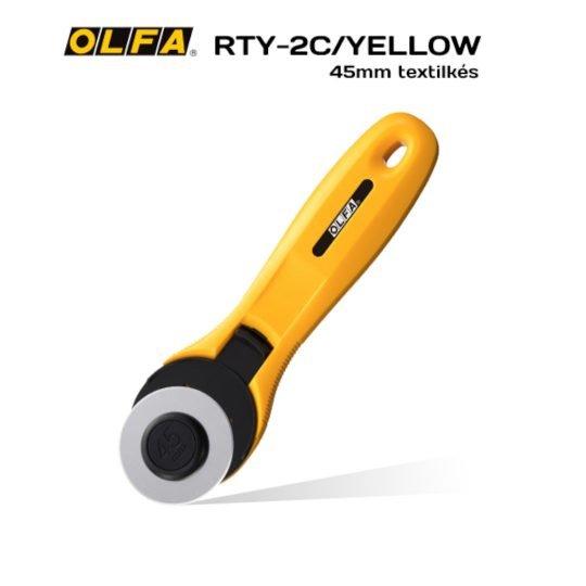 Olfa RTY-2C/YELLOW - Textilkés
